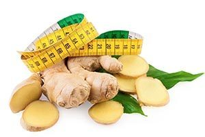 ginger for weight loss errezeta